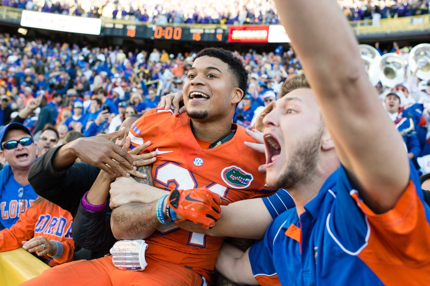 Florida Gators Football Six Players Make All Sec Teams